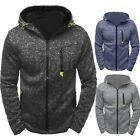 INCERUN Men's Winter Hoodie Warm Hooded Sweatshirt Coat Jacket Outwear Sweater