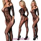Bodystocking woman onesie overall catsuit lace lingerie underwear new DL-1918