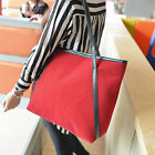 Women Leather Suede Shoulder Bags Large Capacity Satchel Tote Bag Handbag Рюкзак