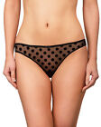"""New Womens Panties String/Thong By NEW ROSME Collection """"VELVET POLKA"""" (777930)"""