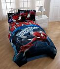 The Amazing Spiderman 2 Twin Size Comforter and Sheet Set