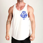 New Gym Singlets Men Tank Top for Bodybuilding and Fitness vest Shirt T-shirt MW