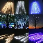Snowfall Meteor Shower Rain Tube 8 Tube Light Decor Xmas us/eu plug 20/30cm