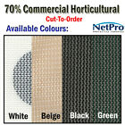 2m Shade Cloth 70% Commercial Grade Shadecloth 200gsm - Cut To Order - POSTED