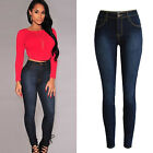 Gt Women Pencil Stretch Casual Denim Skinny Jeans Pants High Waist Trousers New