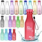 Portable Leak-proof Unbreakable Cycling Camping Cup Sport Travel Water Bottle
