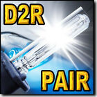D2R Xenon HID Headlight Replacement bulbs for 2003 2004 2005 2006 Volvo XC90