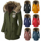 New Lady Women\'s Warm Winter Long Jacket Long Sleeve Coat Parka Outwear Hooded