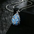 Neclace Hollow Out Heart Pendant Glow In Dark Long Necklace For Women Water Drop