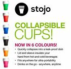 Collapsible Pocket Cup by Stojo - assorted colours