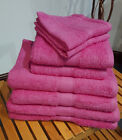 Fuchsia 500 GSM Bobble Towels (Face, Hand, Bath Towel and Bath Sheet Available)