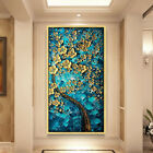 Hand Painted Flower Modern Abstract Oil Paintings Wall Pictures Art Decoration