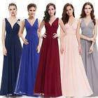 Long Chiffon Bridesmaid Dresses Formal Evening Ball Gown Prom Ever Pretty 09016