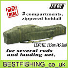 Jaxon X-Team 2 compartments holdall 1.25yd to transport your rods case,  tube