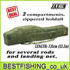 Jaxon X-Team 2 compartments holdall 1.47yd to transport your rods case,  rod tube
