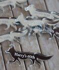 Silver fox PERSONALISED Table Confetti for birthday parties cake toppers etc