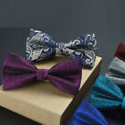 Adjustable New Men's Party Tuxedo Bow Tie Fashion Solid Classic Necktie Business
