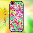 Lilly Pulitzer Colorful Pattern Hard Case for iPhone
