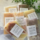 handmade guest soap slices for travel or small gift or favour sydney post