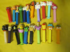 Lot of 25 Pez Candy Dispensers Halloween Helo Kitty Toy Story Garfield Disney