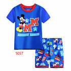 Mickey Mouse Boys cotton pjs pyjamas spring autumn sleepwear size 1-6 in AU xmas