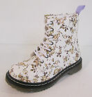 Spot On H5009 Girls Floral Print Patent Ankle Boot UK10-2 (R23A)