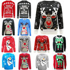 Mens Male Knitted Retro Extra Thick Sweater UKseller Christmas Xmas Jumper