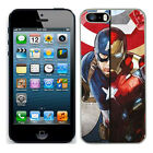 Marvel iron man case fits Iphone 4s 5c SE 5s 6 6s 7 cover mobile (8) phone