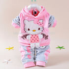 Baby girls brand sets children Hooede + pants clothes suits,tracksuit