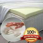 ALL SIZES & DEPTHS OF 100% ORTHOPEDIC MEMORY FOAM MATTRESS TOPPERS