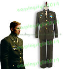 Captain America Cosplay Costume Steve Rogers Outfit Attire Suit Oliver Uniform