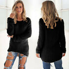 Brand New lady sweater coat color long sleeve Casual Pullover woman fashion sexy
