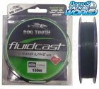 Dogtooth Fluidcast 4 Carrier Braid Green 150m Spool Fishing Line Dog Tooth BRAND