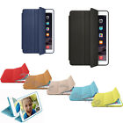 For MF051LL/A Apple iPad Air Genuine Leather Smart Case Cover Slim Wake