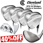CLEVELAND GOLF RTX ROTEX 2.0 WEDGES NEW 2016 ALL LOFTS ** 40% SALE ** GOLF CLUBS