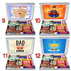 GIFT for DAD Personalised Any Occasion Chocolate Selection Box Birthday Thanks