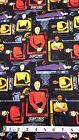 Star Trek Fabric, 100% cotton, fat quarters, Camelot Fabrics 6320101