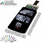 Just Drift It Turbo Jdm Skid Dub Side - Universal Leather Pouch Phone Case Cover
