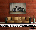 Wall Art Canvas Picture Print - BMW R80 Motorcycle, Bike 3.2
