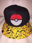 POKEMON GO iphone Video Game CARD Pikachu SQUIRTTLE Youth BOYS New OSFM HAT Cap