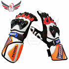 Honda Motorbike Gloves Leather Repsol Motorcycle Gloves Racing Suits S, M, L, XL