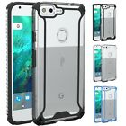 Affinity Slim fit Clear Dual material Protective Case for Google Pixel XL (2016)
