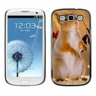 Hard Phone Case Cover Skin For Samsung Beasts standing furry squirrel
