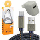 USB Power Adapter Charger + JEANS Micro Daten Ladekabel Samsung Galaxy S5 Neo