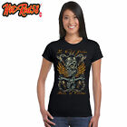 Ladies Hot Rat Rod 58 Wicked Piston Racing Engine Race Dragster T-Shirt Biker 79