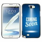Hard Phone Case Cover Skin For Samsung Coming Soon Web Page Template
