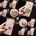 Lovely Crystals Handmade TPU Soft Transparent Back Case Cover For Mobile Phone 2