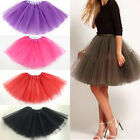 Women Adult Dancewear Tutu Pettiskirt Princess Magic Coming Party Mini Dress