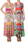 Smash Barcelona S-XXL UK 10-18 RRP ?45.50 Caicara Maxi Dress Floral Summer