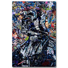 Darth Vader Star Wars All Characters Art Silk Poster 12x18 24x36inch Trippy $5.6 CAD